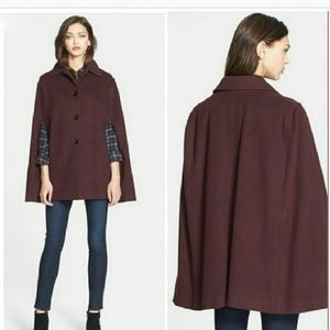 HELENE BERMAN Cape coat - size S